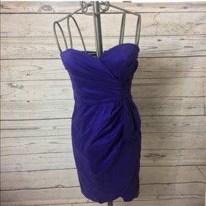Maggy London Strapless Snapdragon Dress